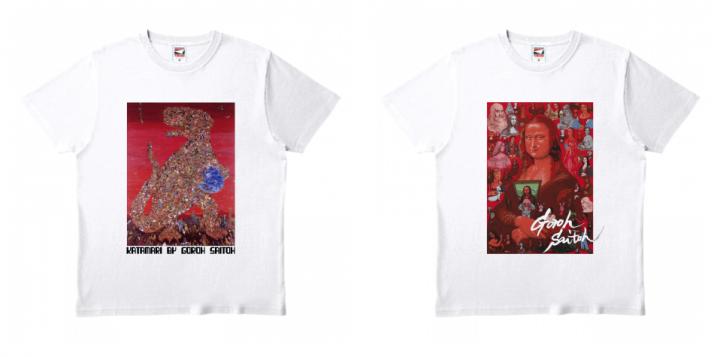 Tシャツ「かたまり」「モナ・リザからのおくりもの」特価でのご案内