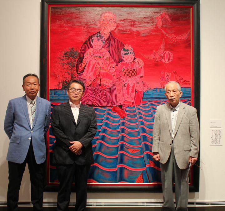 『斎藤吾朗の描けば描くほど-モナ・リザ模写から赤絵へ-』開幕致しました