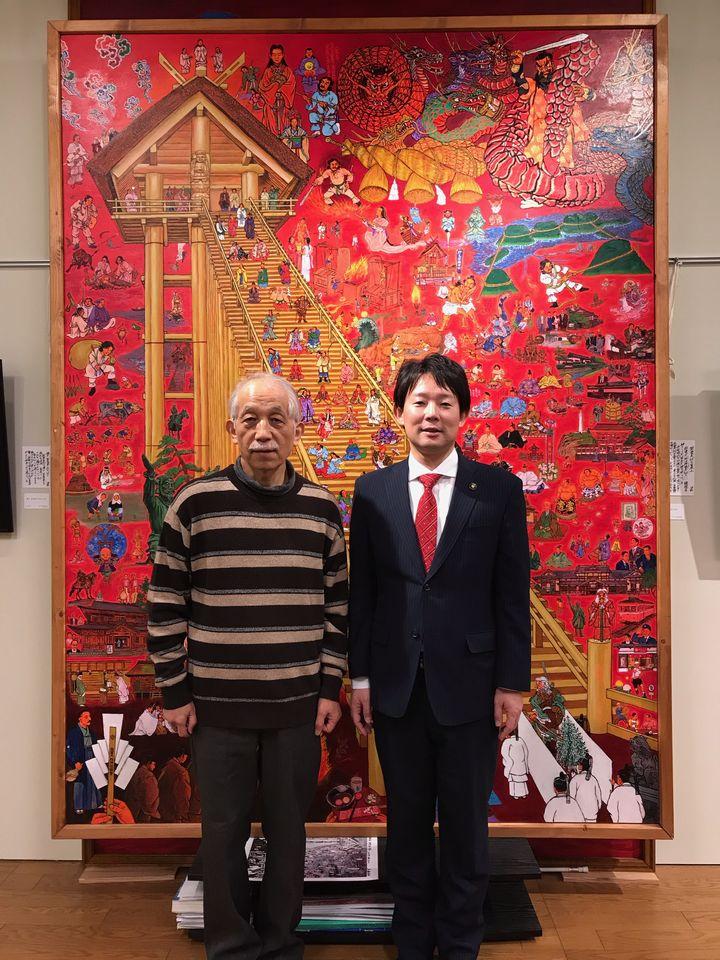 『第22回 斎藤吾朗アトリエ展』12日目(最終日)